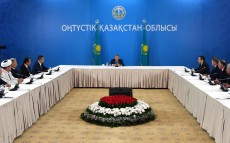 Meeting with the public of South Kazakhstan region