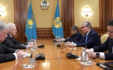 President of Kazakhstan Kassym-Jomart Tokayev receives Andrei Fursenko, Assistant to the President of Russia