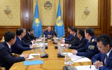 Meeting on Kazakhstan's Law Enforcement System Reform chaired by the Head of the State