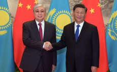 President of Kazakhstan Kassym-Jomart Tokayev held talks with Chinese President XI Jinping