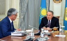 The Head of State receives Culture and Sport Minister Arystanbek Muhamediuly